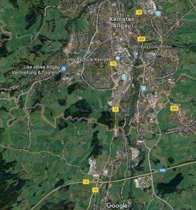 ebike Verleih und Touren Kempten Allgäu like e bike